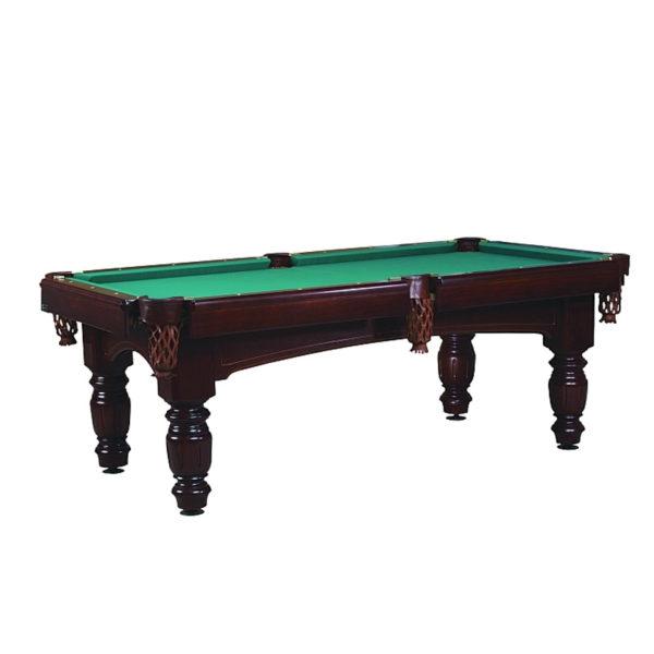 Billiardový stůl pro profesionály v elegantním klasicistním provedení