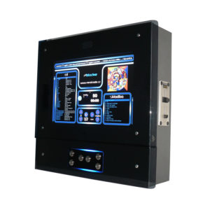 Nástěnný jukebox BLACKIE PLUS – audio, video, karaoke, HDMI