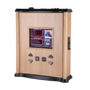 Použitý dřevěný nástěnný jukebox MINI