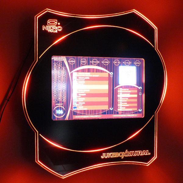 Hudební přehrávač do vašich prosorr Jukebox Mural II