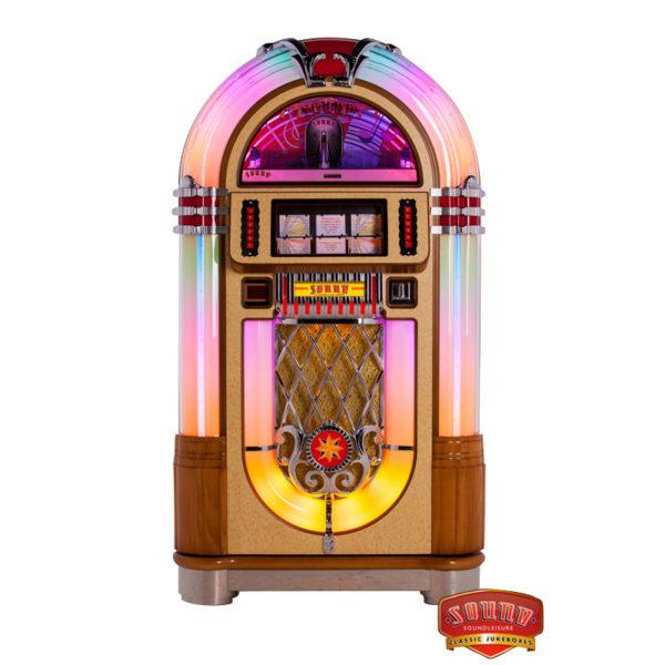 Ztenčená verze jukeboxu 1015