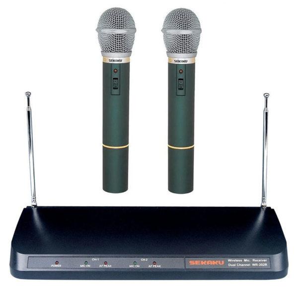 Bezdrátový mikrofon plus přijímaš Sekaku WR-202
