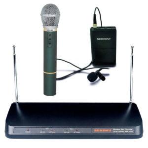 Bezdrátový mikrofonní set Sekaku WR202R+VXM286+WT203P