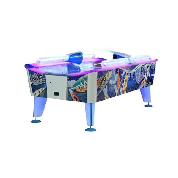 zábavný hrací stůl vzdušný hokej Air hockey Big Wave