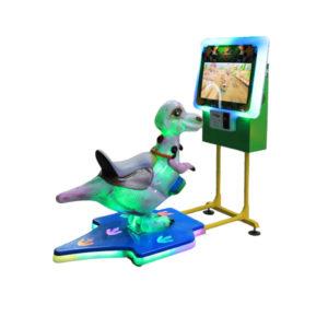 Interaktivní dětská jízda – Dragon Racer