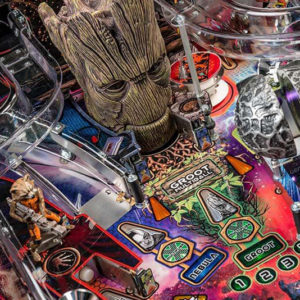 Stern Pinball Guardians of the Galaxy PRO