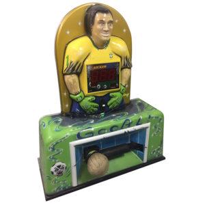 Použitý silový automat kicker ve tvaru fotbalisty