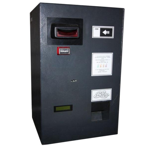 Automat na rozměnění bankovek na mince