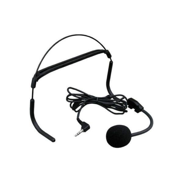 Hlavový dynamický mikrofon HM-26