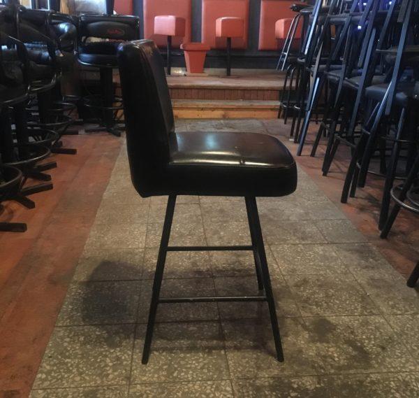 barová židle NERO s opěradlem