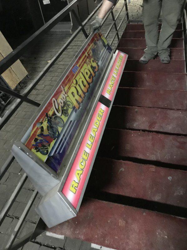 Použitý arkádový automat Cool Rider