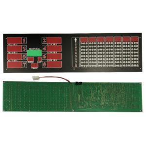 Řídící deska pro displej + plexi displej