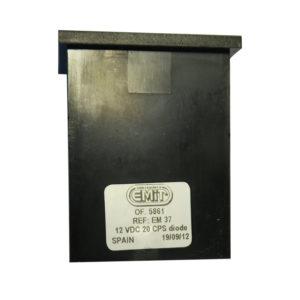 Elektromechanické počítadlo EM 37, 7 místné, dioda, 20 CPS