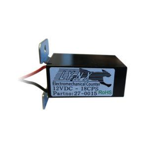 Elektromechanické počítadlo s držákem, 6 místné 12V DC, s diodou 18 CPS