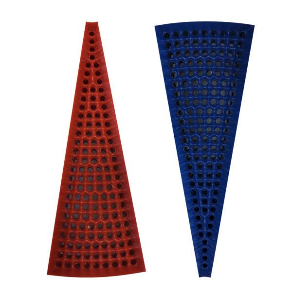 Trojúhelníkový segment pro šipky