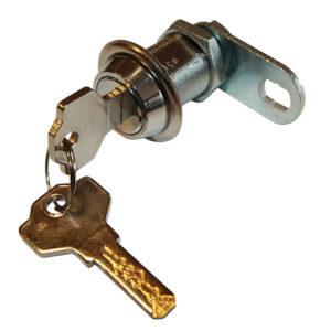 Zámek mechanický 10 pin s plochým klíčem