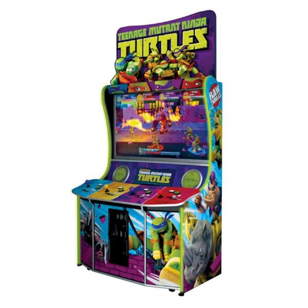 Arkádová bojová hra - želvy ninja