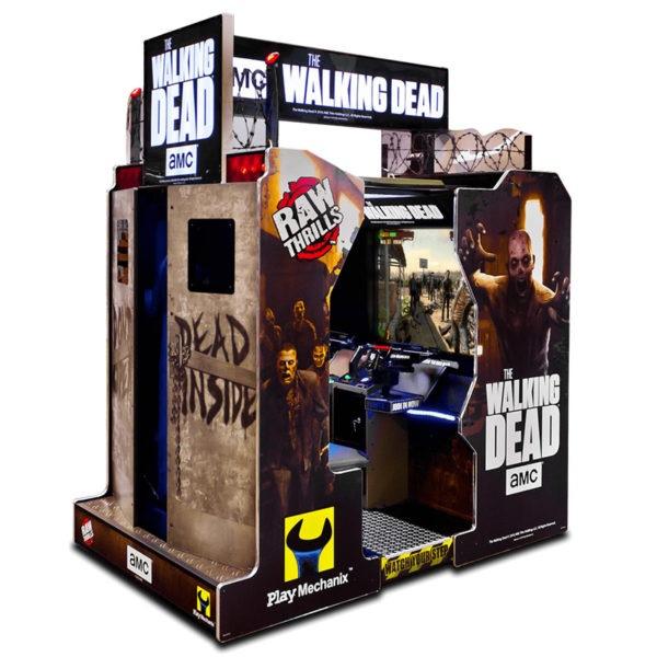 Arkádová střílečka Walking Dead