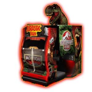Interaktivní arkádová hra – Jurassic Park
