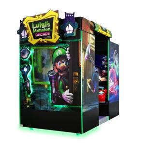 Interaktivní arkádová dobrodružná hra – Luigi's Mansion Arcade