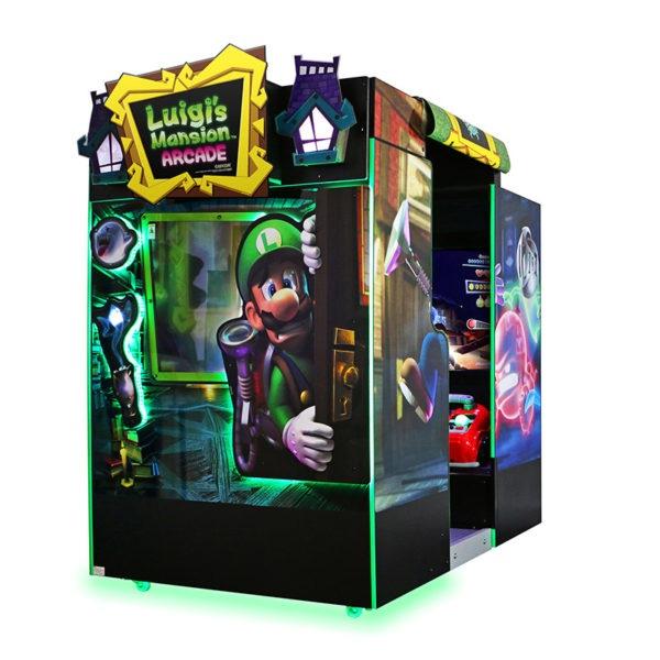 Arkádová dobrodružná hra Luigi's Mansion Arcade
