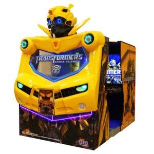 Interaktivní arkádová hra – Transformers Human Alliance