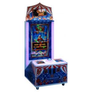 Interaktivní zábavná arkádová hra – Circus Jars