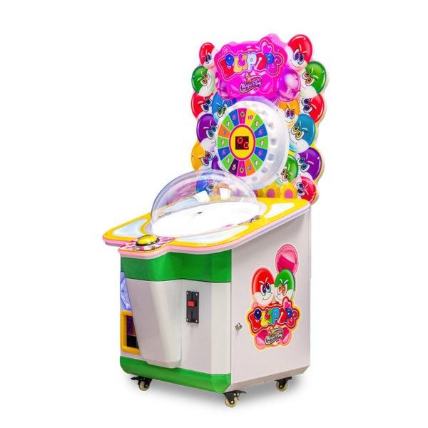 Dětský výherní automat na sladkosti Lollypops