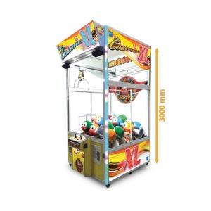 Dětský výherní automat na plyšáky – Cosmic XL