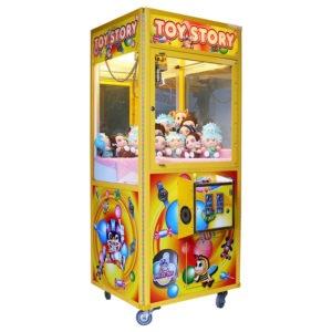 Dětský výherní automat na plyšáky – Toy story