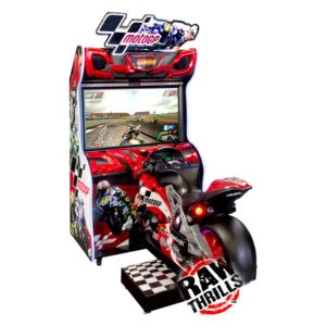 Interaktivní závodní simulátor – Moto GP