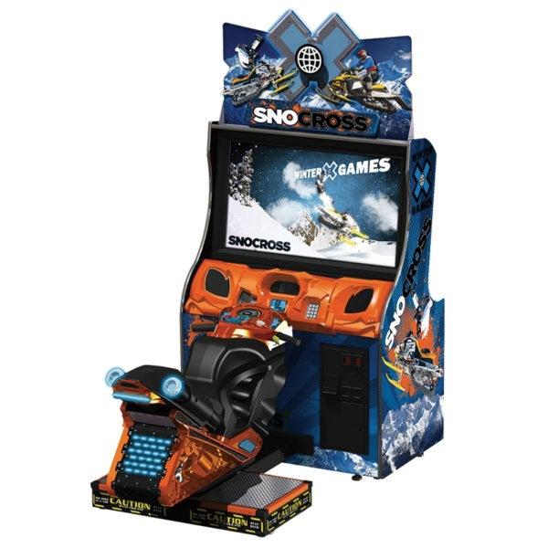 Sportovní simulátor Snocross