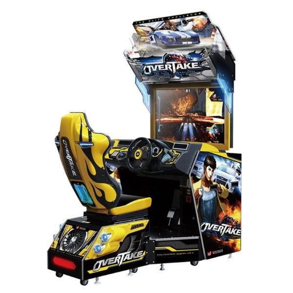 Intraktivní závodní simulátor Overtake