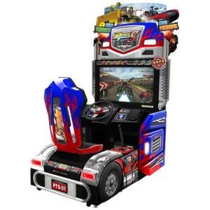 Interaktivní závodní simulátor – Power Truck S