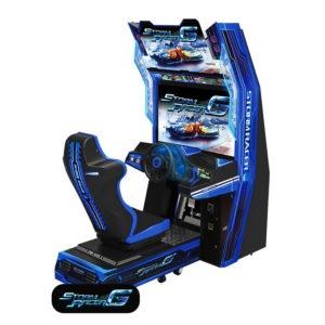 Interaktivní závodní simulátor – Storm Racer Gravity